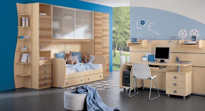 Muebles para habitaciones infantiles peque as - Diseno de habitaciones pequenas ...
