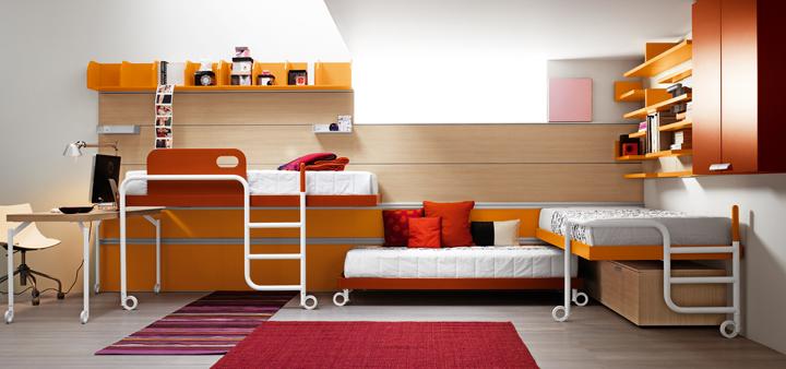 Muebles para habitaciones infantiles peque as for Muebles modernos para casas pequenas
