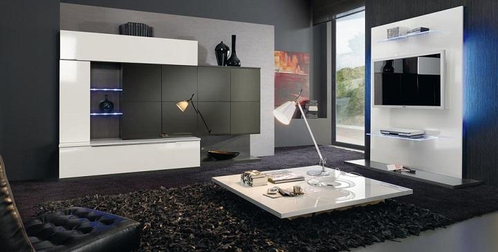 muebles salon luces led2