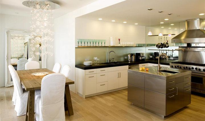 Parquet en la cocina ventajas y desventajas for Cocinas con parquet