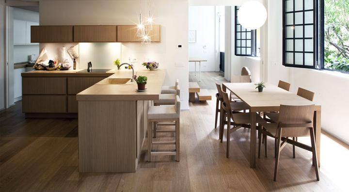 Parquet en la cocina ventajas y desventajas - Cocinas con parquet ...