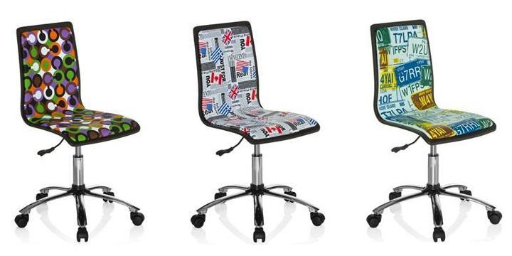 Sillas para un escritorio juvenil for Sillas de escritorio altas