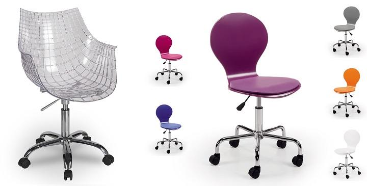 Sillas para un escritorio juvenil for Precios sillas giratorias para escritorio