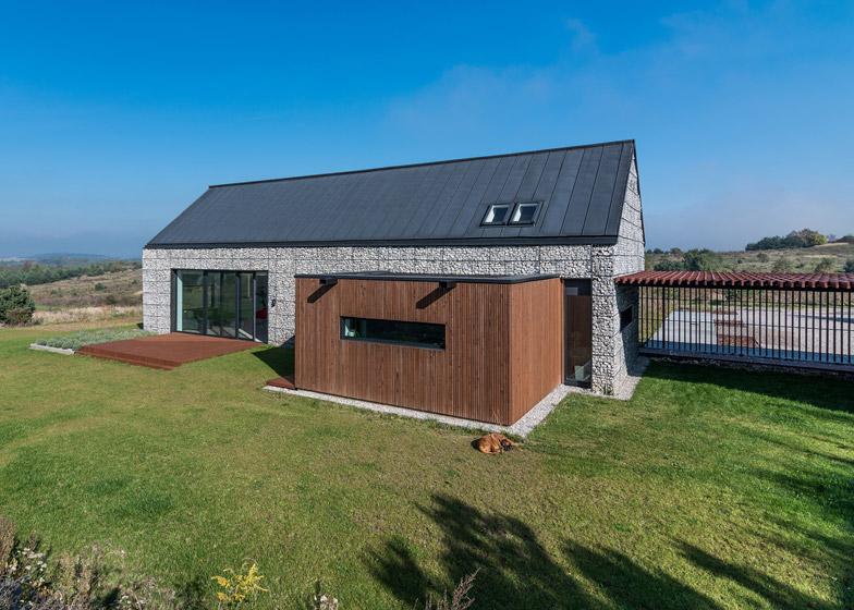 Planos de casas de dos plantas - Casas de madera para campo ...