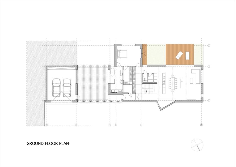 Casa de campo moderna de dos plantas3 for Casas de campo de dos plantas
