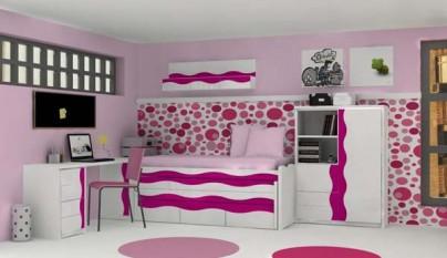 Dormitorio rosa17