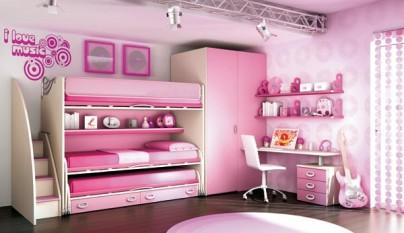Dormitorio rosa27