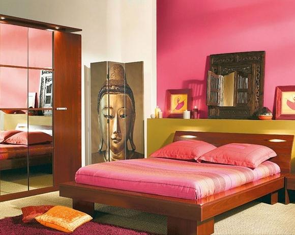 Fotos de dormitorios de color rosa