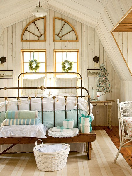 Baños Estilo Cottage:Cute Vintage Bedroom Ideas
