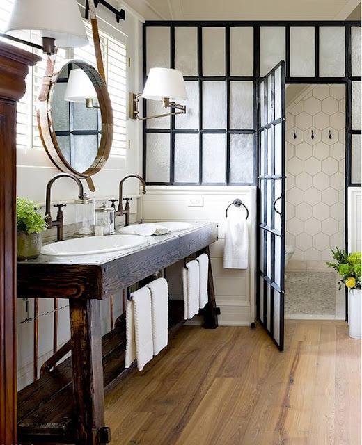 Baños Con Estilo Fotos:Rustic Industrial Bathroom