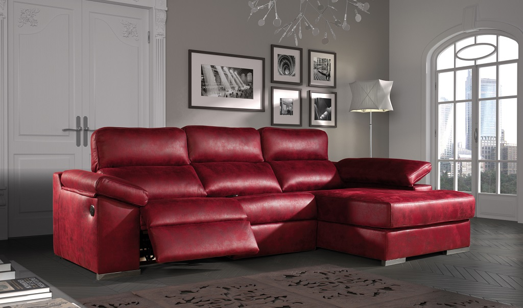 Merkamueble sofa rojo