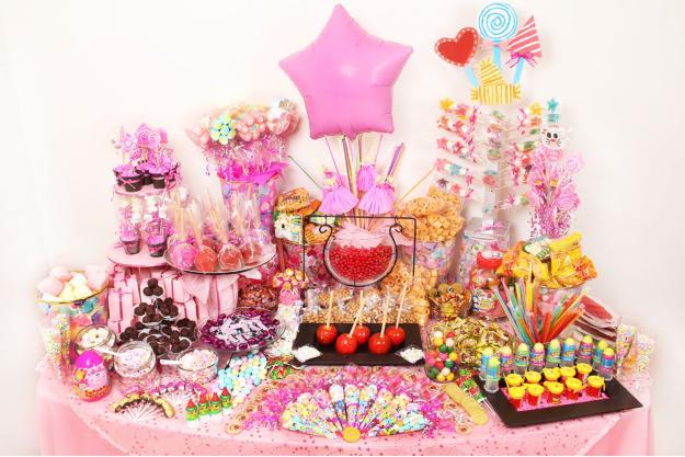 De mesas de dulces imagui for Mesas infantiles precios