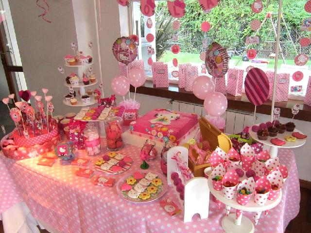Mesa con dulces - Imagui