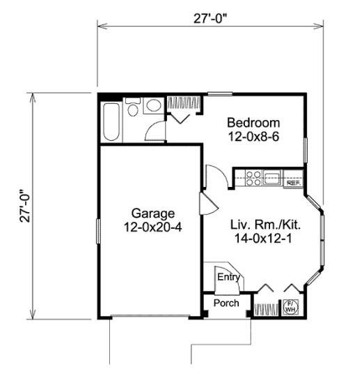 Plano casa pequena tradicional2 - Planos casas pequenas ...