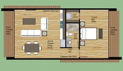 planos de casas de dos pisos de 4x10