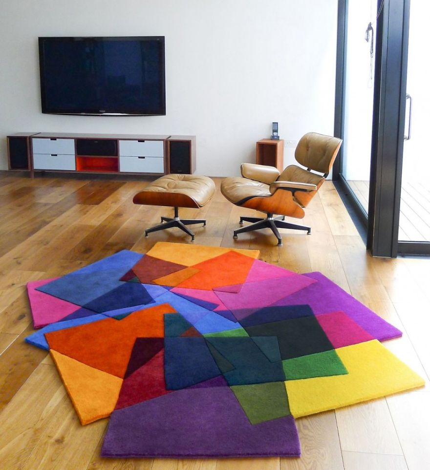 alfombra de colores