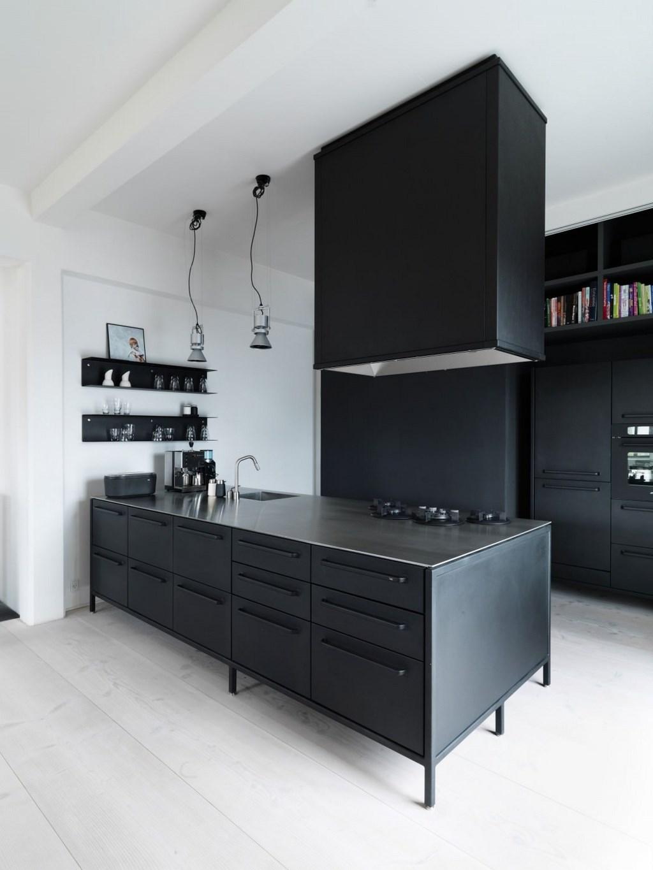 Vipp Keuken Modules : Precioso apartamento de estilo industrial