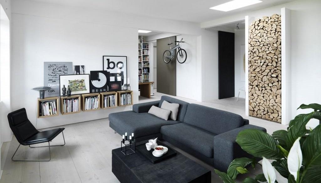 apartamento de estilo industrial