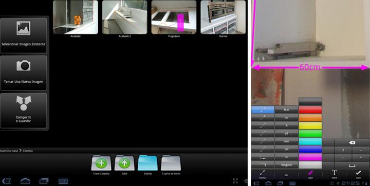 aplicaciones android para decorar tu casa