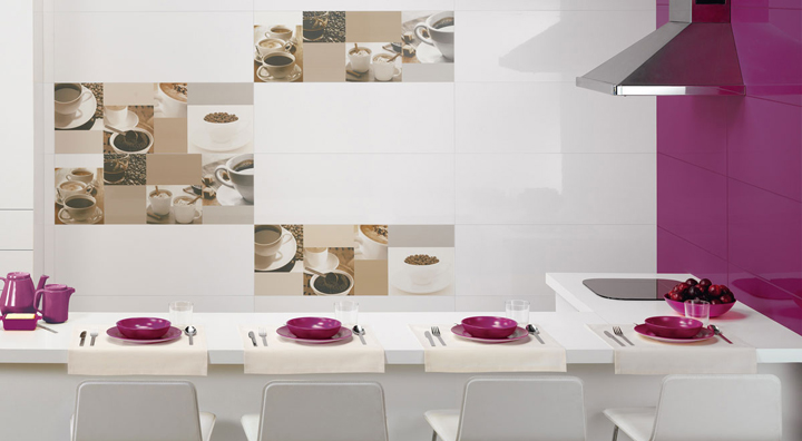 Azulejos para cocinas modernas for Ceramicas para cocinas modernas