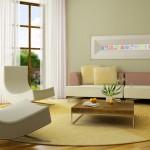 Decorar un sal n en colores neutros - Colores para pintar el salon ...