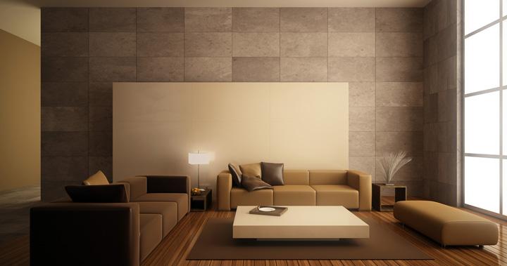 Salones en beige for Colores de moda para pintar el salon