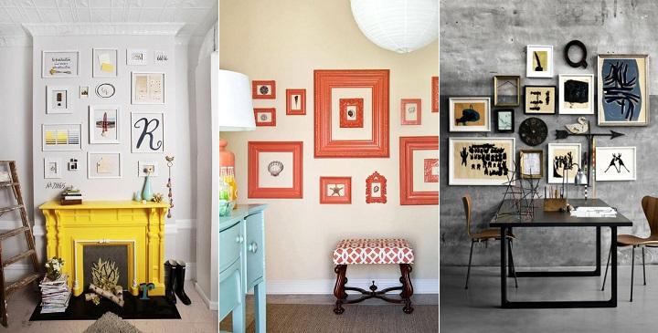 consejos para decorar con cuadros
