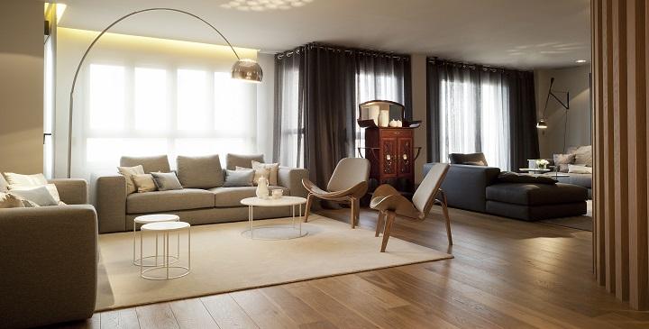 Cómo decorar habitaciones grandes