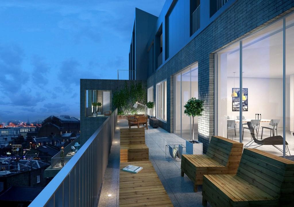 moderno loft situado en Londres 11
