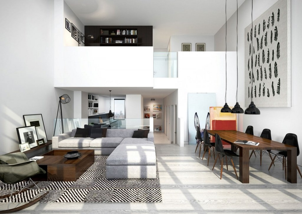 moderno loft situado en Londres 3