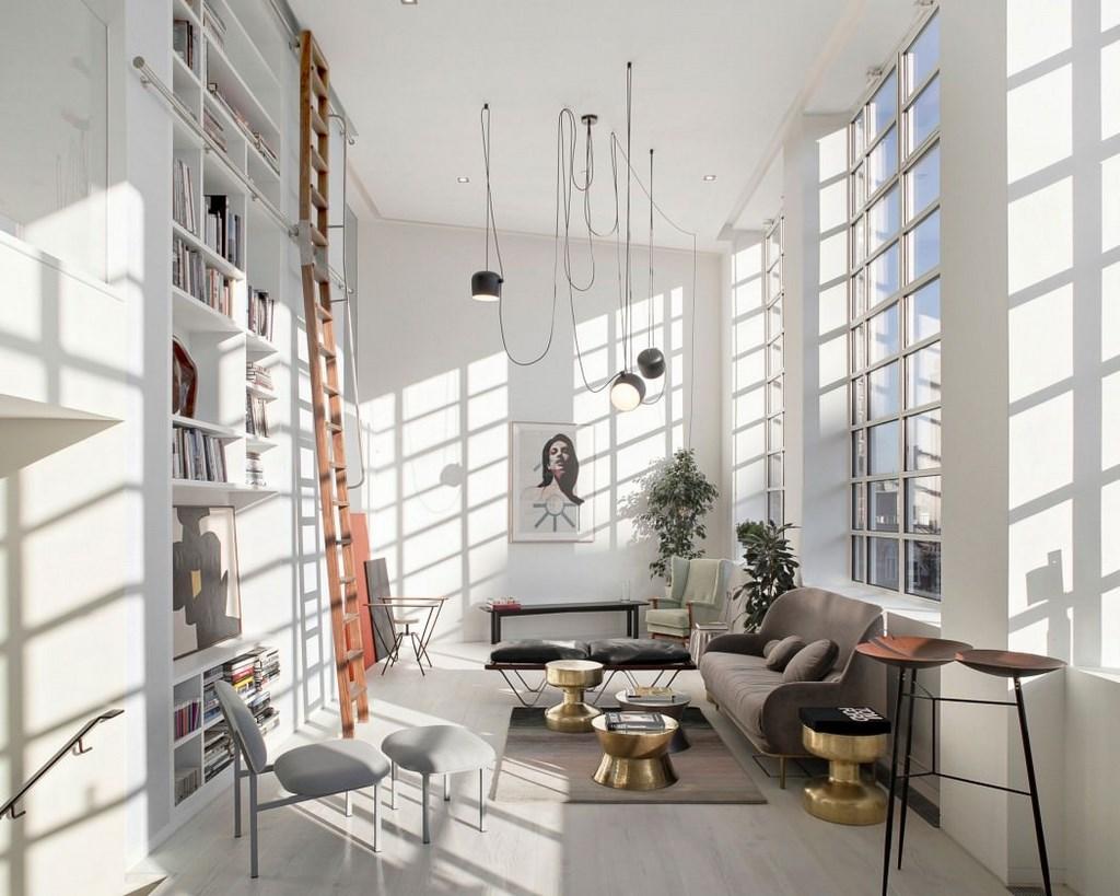 moderno loft situado en Londres
