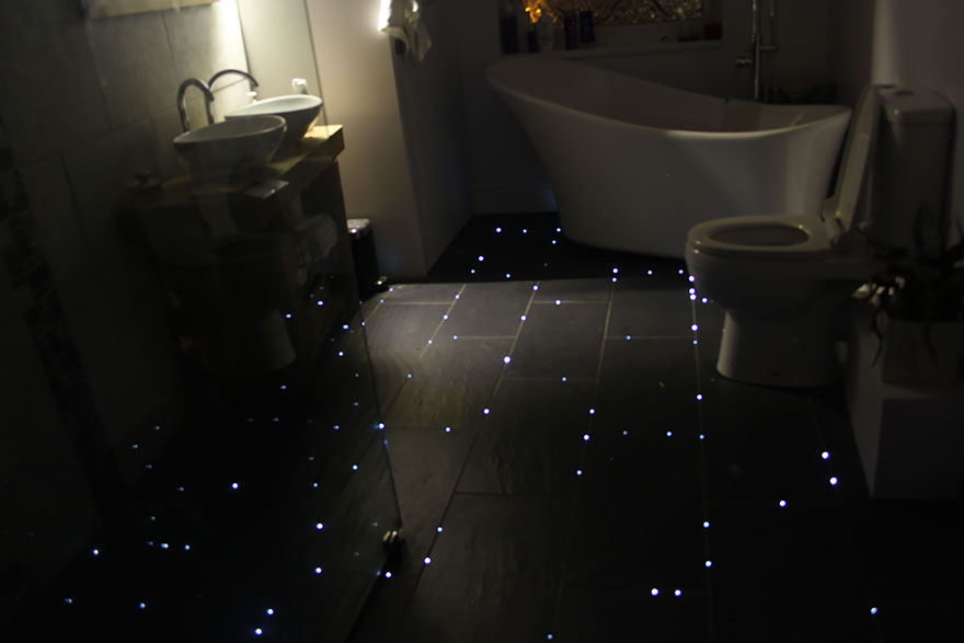 suelo iluminado