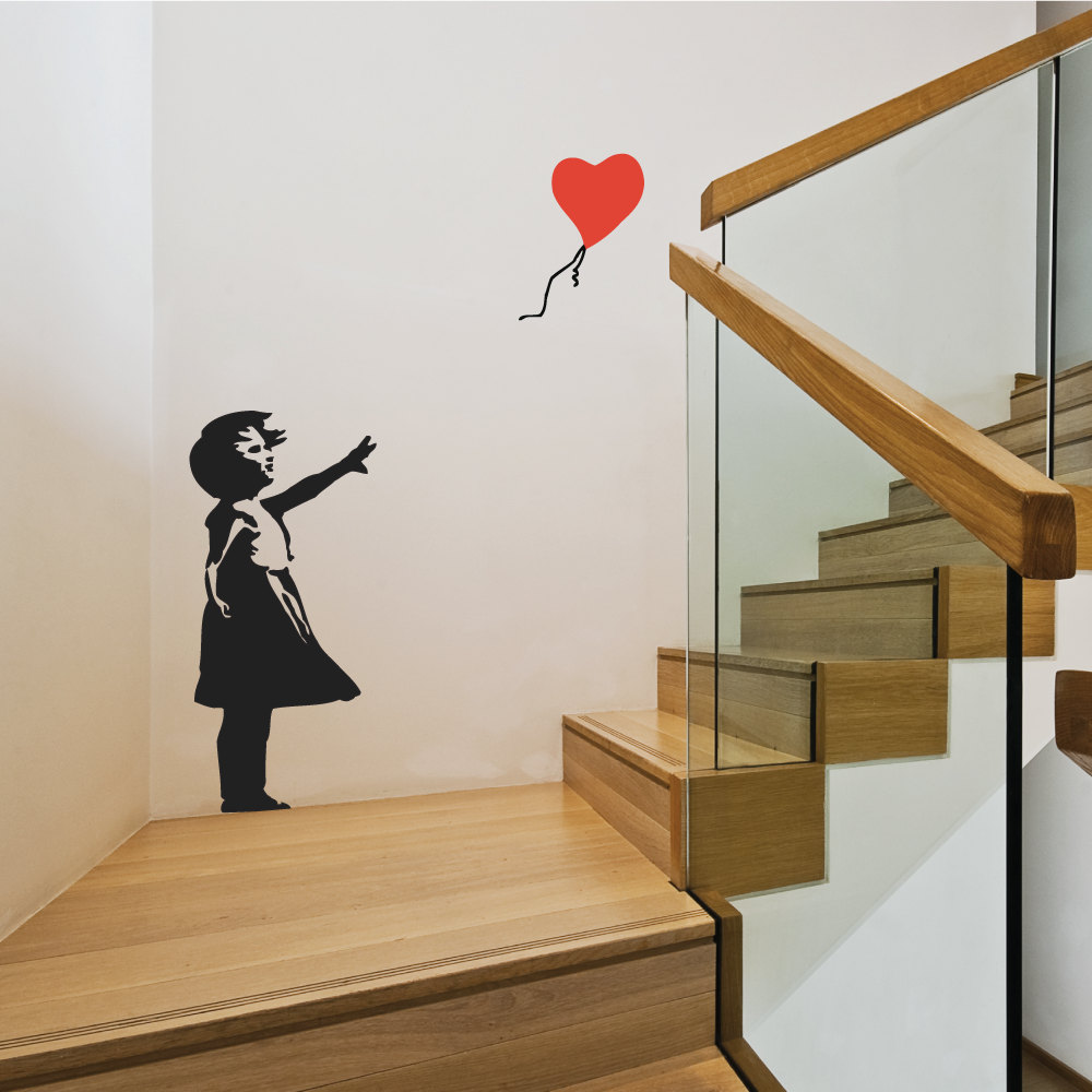 Vinilos de banksy para las paredes de tu hogar - Vinilos en conforama ...