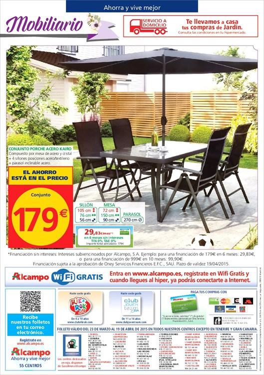 Alcampo terraza jardin 201512 - Carrefour terraza y jardin ...