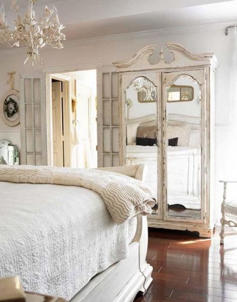 Dormitorio vintage foto5 - Dormitorios vintage blanco ...