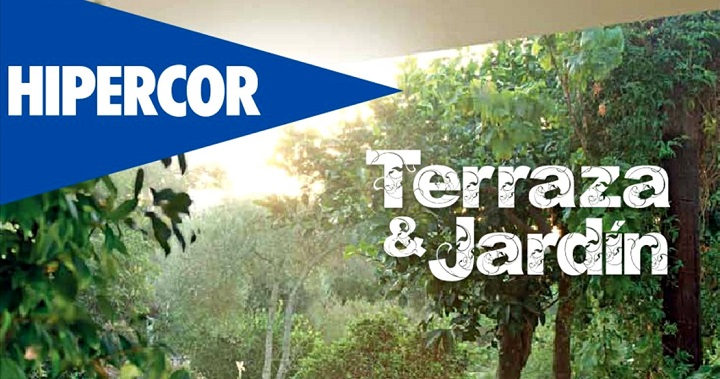 Hipercor cat logo terraza y jard n 2015 for Hipercor sombrillas jardin