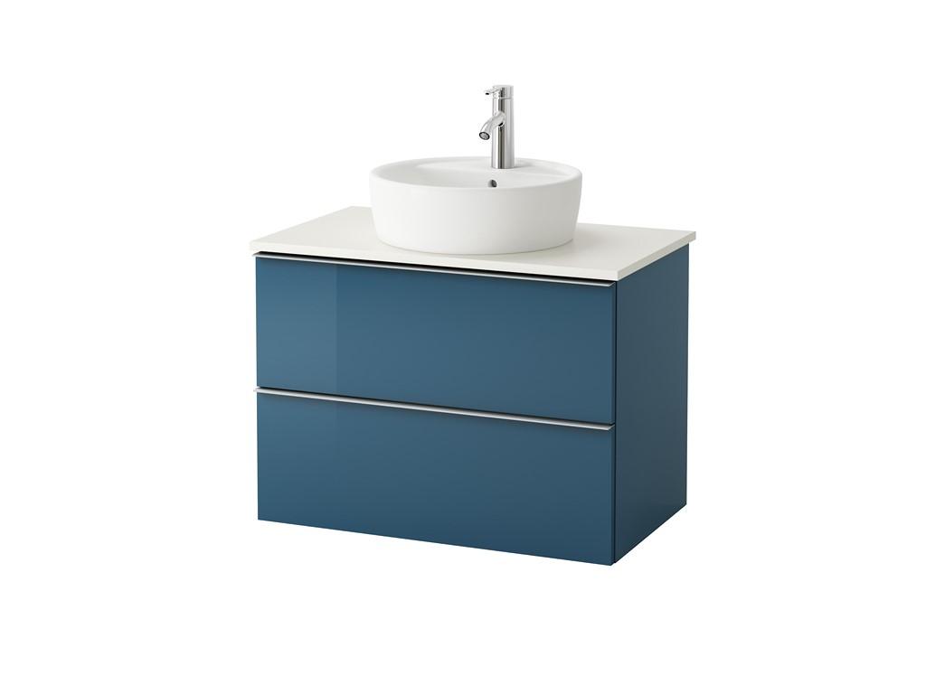 Lavabos ikea con mueble muebles de bao baratos muebles de for Mueble lavabo pedestal ikea