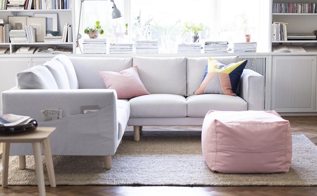 Muebles de interior y exterior de ikea para la primavera 2015 - Mesas para el sofa ...