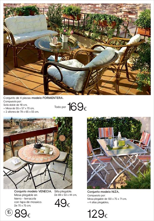 Iluminacion Baño Hipercor:Terraza y jardin Hipercor16