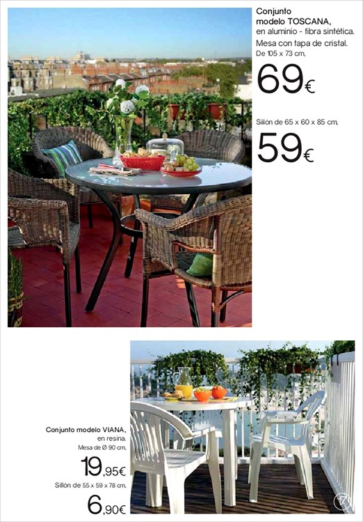 Terraza y jardin hipercor17 for Hipercor sombrillas jardin