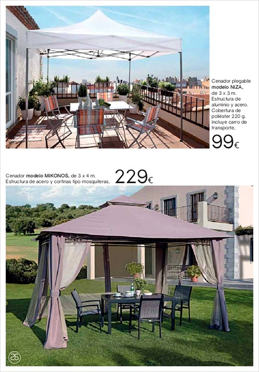 Terraza y jardin hipercor26 for Sodimac terraza y jardin