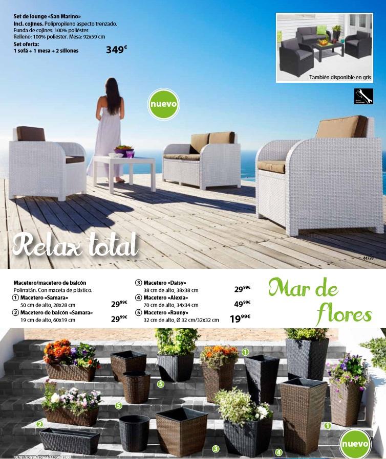 Tiempo de jardin5 Muebles jysk catalogo