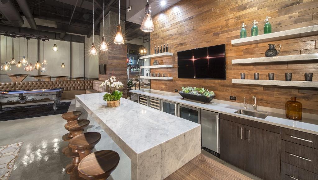 Cocina industrial for Muebles de cocina estilo industrial