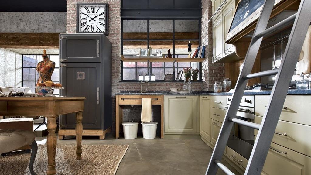 Cocinas con un aire retro - Muebles de cocina estilo retro ...