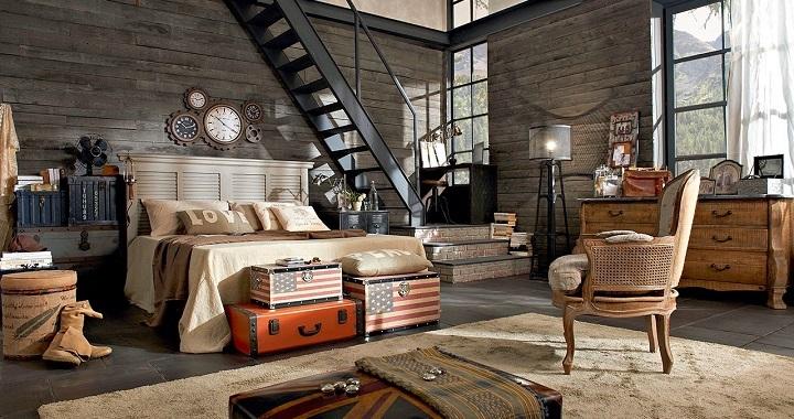 dormitorio industrial foto