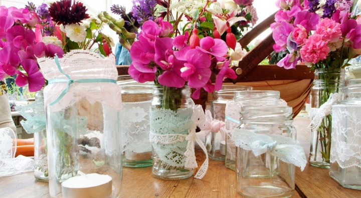 Ideas para decorar centros de mesa con flores - Centros para decorar mesas ...