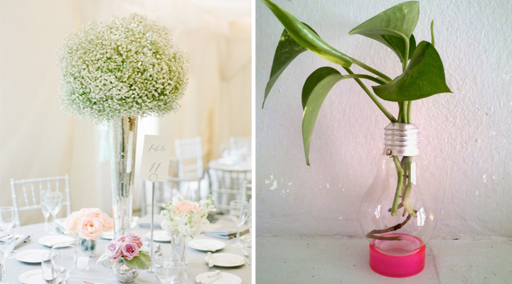 Ideas para decorar centros de mesa con flores - Decorar una mesa de centro ...