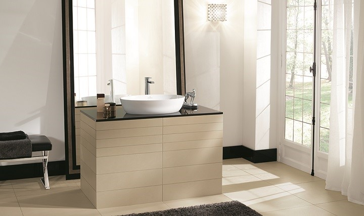 muebles bao lavabo sobre encimera