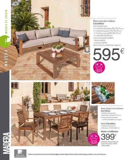 Iluminacion Baño Carrefour:Carrefour: catálogo terraza y jardín 2015 (10/52)