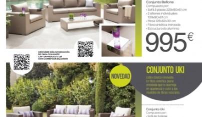 Carrefour cat logo terraza y jard n 2015 for Arcones jardin ikea